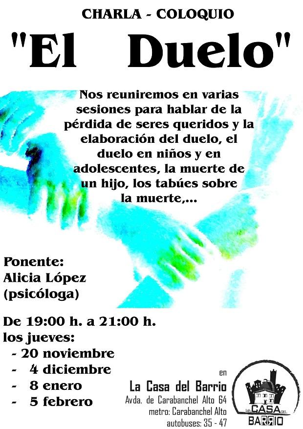 2014Charla psicologia1-El duelo