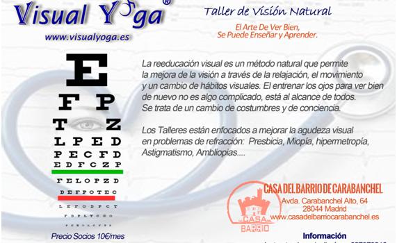 Nuevo taller de Visual Yoga