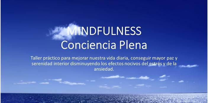 Taller de Mindfulness. Sábado 28 de Noviembre 11:00