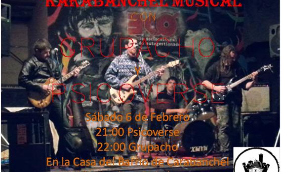Karabanchel Músical. Sábado 6 de Febrero 21:00