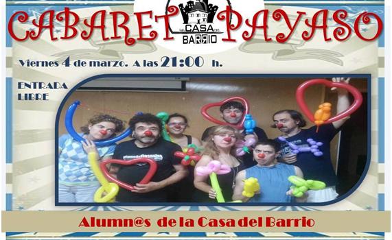 Noche Cabaret Clown. Viernes 4 de Marzo 21:00