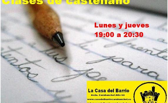 Vuelven las clases de castellano