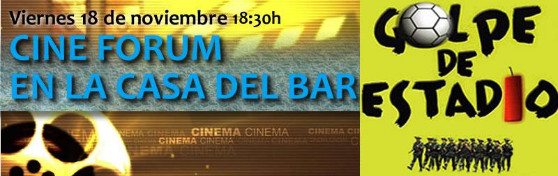 Cine Forum Viernes 18 de noviembre a las 18:30h