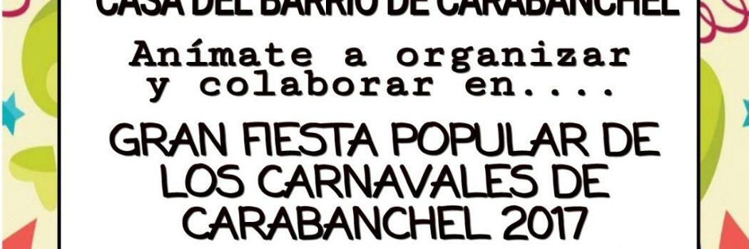 Carnavales en Carabanchel, reunión preparatoria