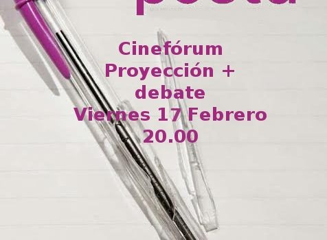 Cineforum documental: Se dice poeta, Viernes 17 de Febrero