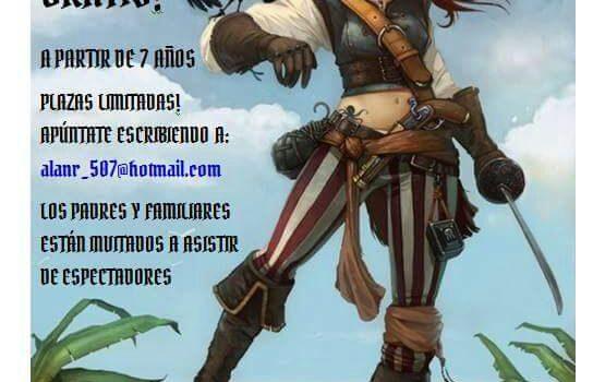 Viernes 7 de abril, Feria Pirata en Carabanchel