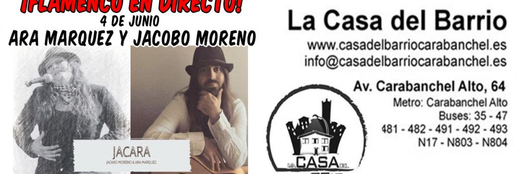 Domingo 4 a las 13:00: Flamenco en la Casa del Barrio