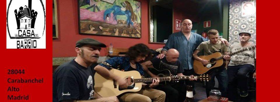 Sábado 17: Blues del Foro en la Casa del Barrio