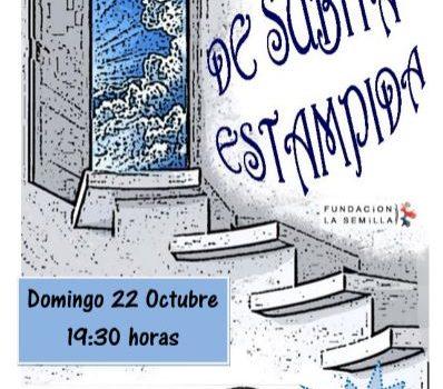 Domingo 22, De súbita estampida, teatro en la Casa del Barrio