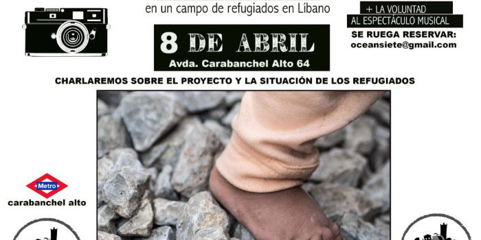 Domingo 8 , 15:00h Comida solidaria