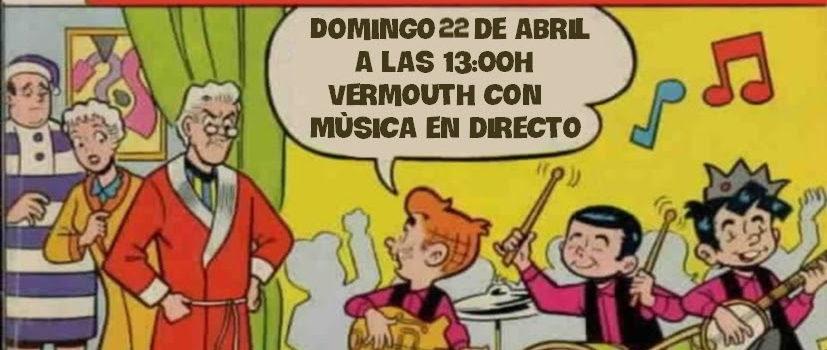 Domingo 22, 13:00h Concierto Gomavieja y Jam