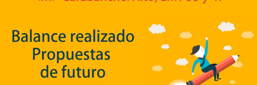 """Domingo 17, 12:00h Encuentro abierto """"HACIA EL MUNICIPALISMO: LO HECHO Y LO QUE QUEDA POR HACER"""""""
