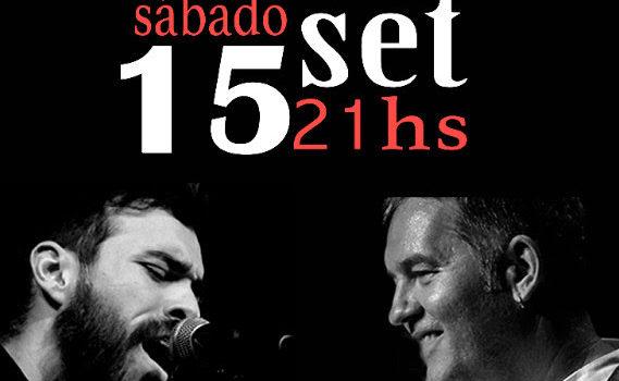Sábado 15, 21:00h Concierto Voz y Media (Salvador Amor y David Díaz)