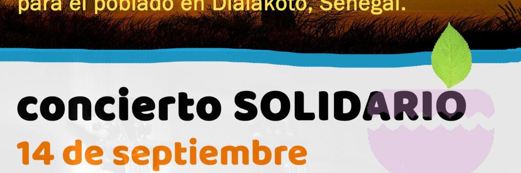 Viernes 14, 20:00h Concierto 100 kms Solidarios