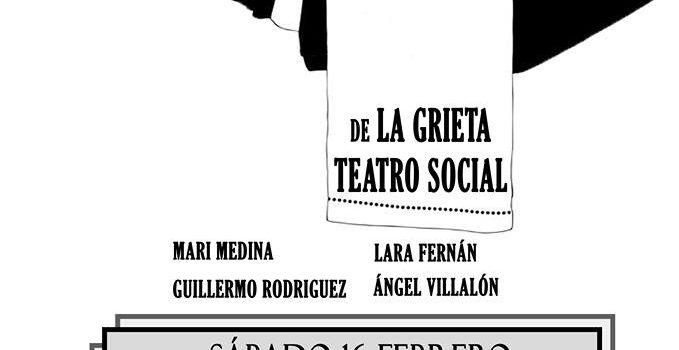 Sábado 16, 21:00, Representación Teatral: EL PAN PODRIDO