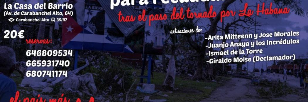 Domingo 17, 13:30, Comida – Concierto solidarios por la Habana