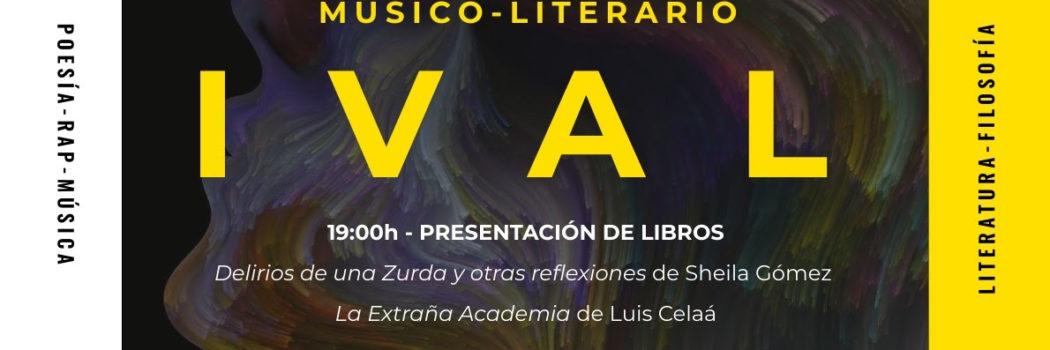 Domingo 24, 19:00, Festival Músico-Literario