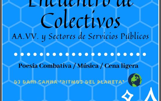 Viernes 26, 19:00h Encuentro de colectivos por la Remunicipalización de Servicios Públicos