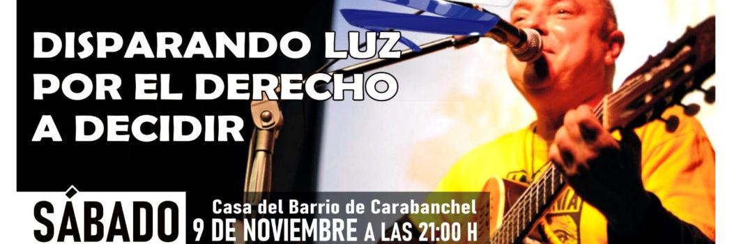 Sábado 9, 21:00h Concierto Orlis Pineda (Disparando luz por el derecho a decidir)